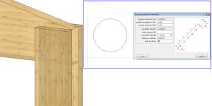 Geometria pomocnicza - koło + punkty