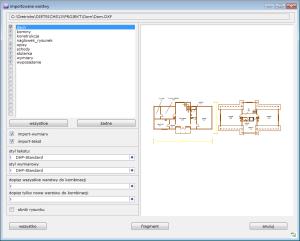 importowenie pliku DXF