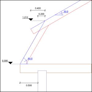 Dach mansardowy - rysunek nr 2