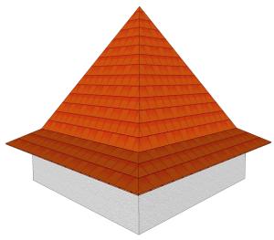 Dach z przypustnicą