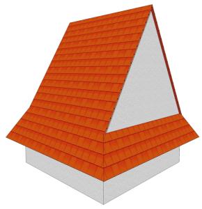 Dach półszczytowy