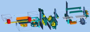 klasyczna koncepcja maszyny ciesielskiej Hundegger K2