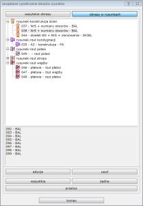 rarządzanie dokumentacją rysunkowa w programie Dietrich's 3D CAD/CAM