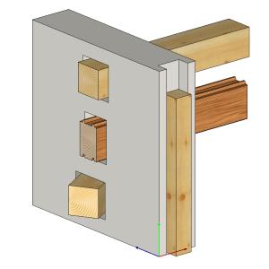 Parametry przecinania - ramka  - prezentacja graficzna