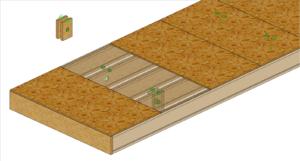 system transportu paneli stropowych