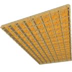 podział stropu drewnianego na panele