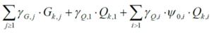 kombinacja obciążeń dla stanu granicznego nosności wzór 6.10