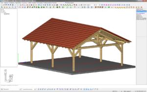 Wizualizacja w środowisku projektowym OpenGL Dietrich's.