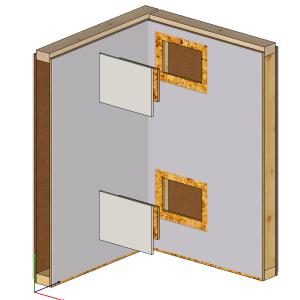 Otwory rewizyjne do montażu ścian