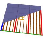 panele stropowe - prefabrykaty drewniane