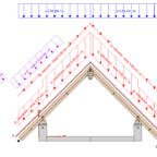 obciążenia konstrukcji drewnianej